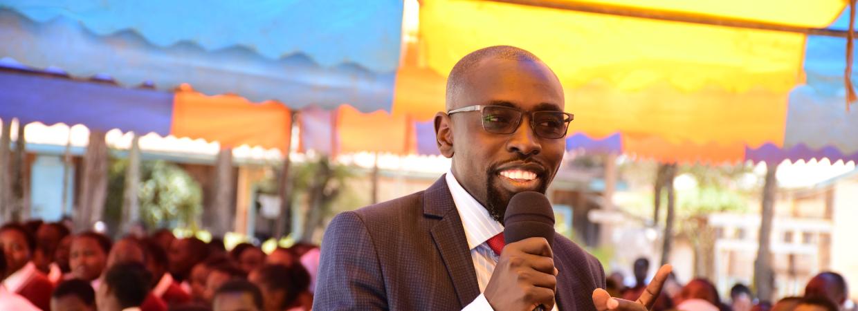 Mentorthon Foundation President Tim Kipchumba